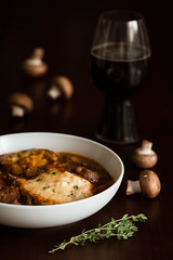 Beef Stew with Cheddar Herb Dumplings