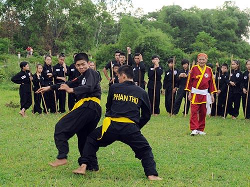 Cao nhân ẩn tích và bí kíp chân truyền của võ đường Phan Thọ