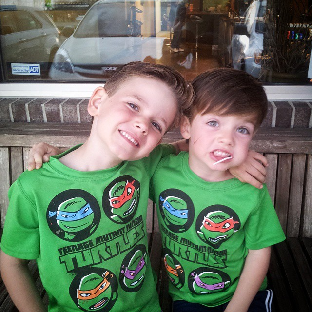New haircuts... just when I thought I couldn't think they were any cuter. #mboys2015