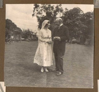 Father and Daughter at Wedding  1917