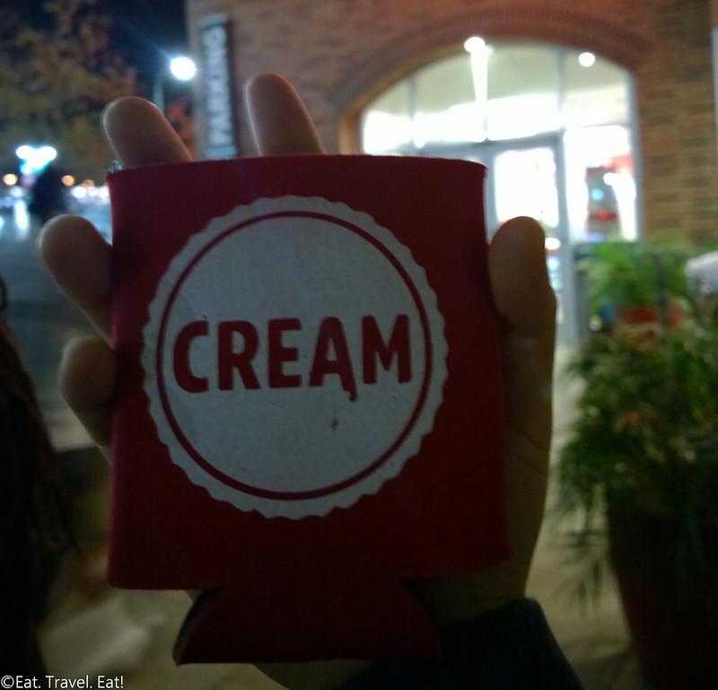 Cream (University Gateway, University of Southern California)- Los Angeles (University Park), CA: Complimentary Drink Holder