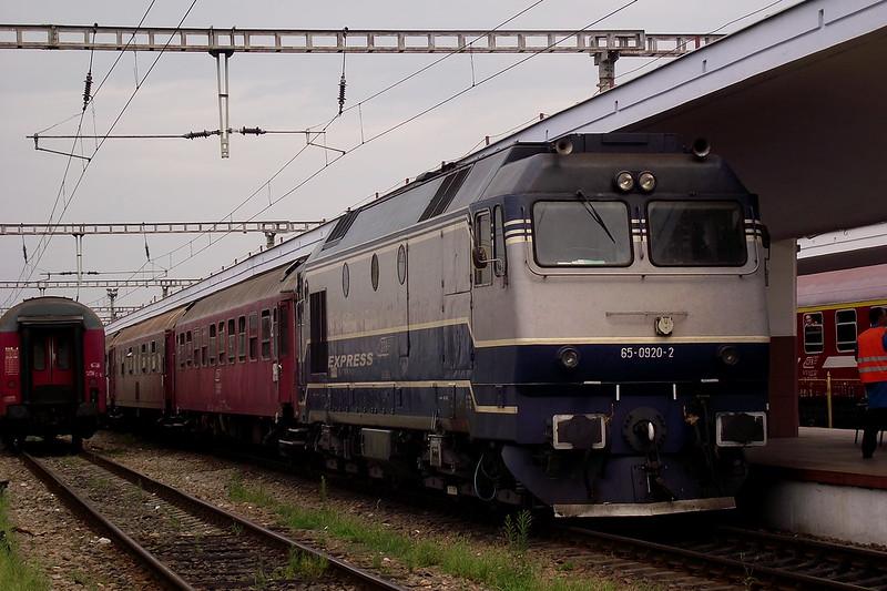 IR1833 Iași-Timișoara