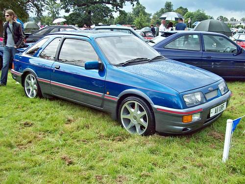 ford sierra british 1980s shugborough xr4i a11xrf