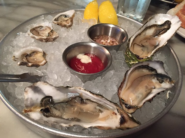 Oysters on the half shell - Anchor Oyster Bar
