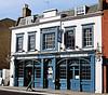 The Blue's Smokehouse Pub, Twickenham - London.