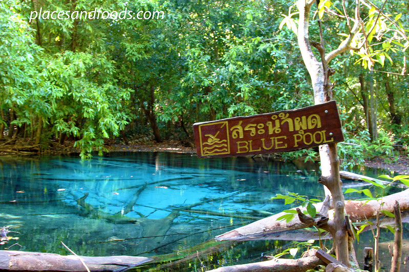 krabi blue pool