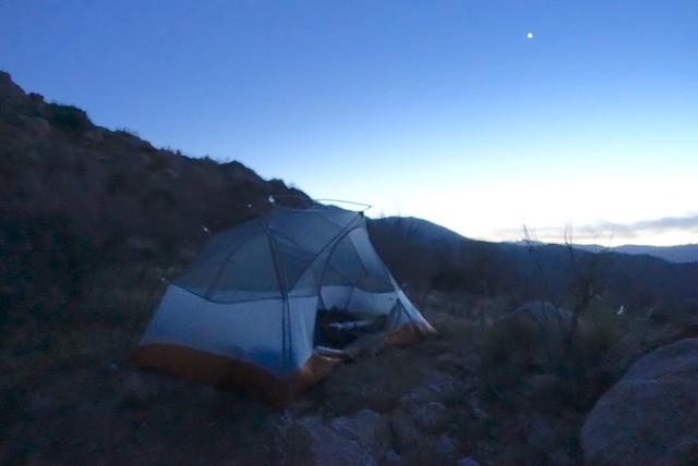Campsite, mile 73.4