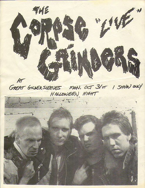 10/31/?? The Corpse Grinders @ The Great Gildersleeves, NYC, NY