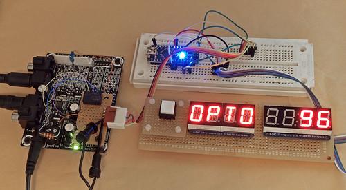 wm8804 eval board, bodge-board and arduino