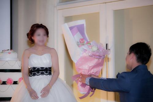 推薦婚宴場地:台南商務會館,米老鼠米奇的特殊結婚婚禮風格新郎求婚記2