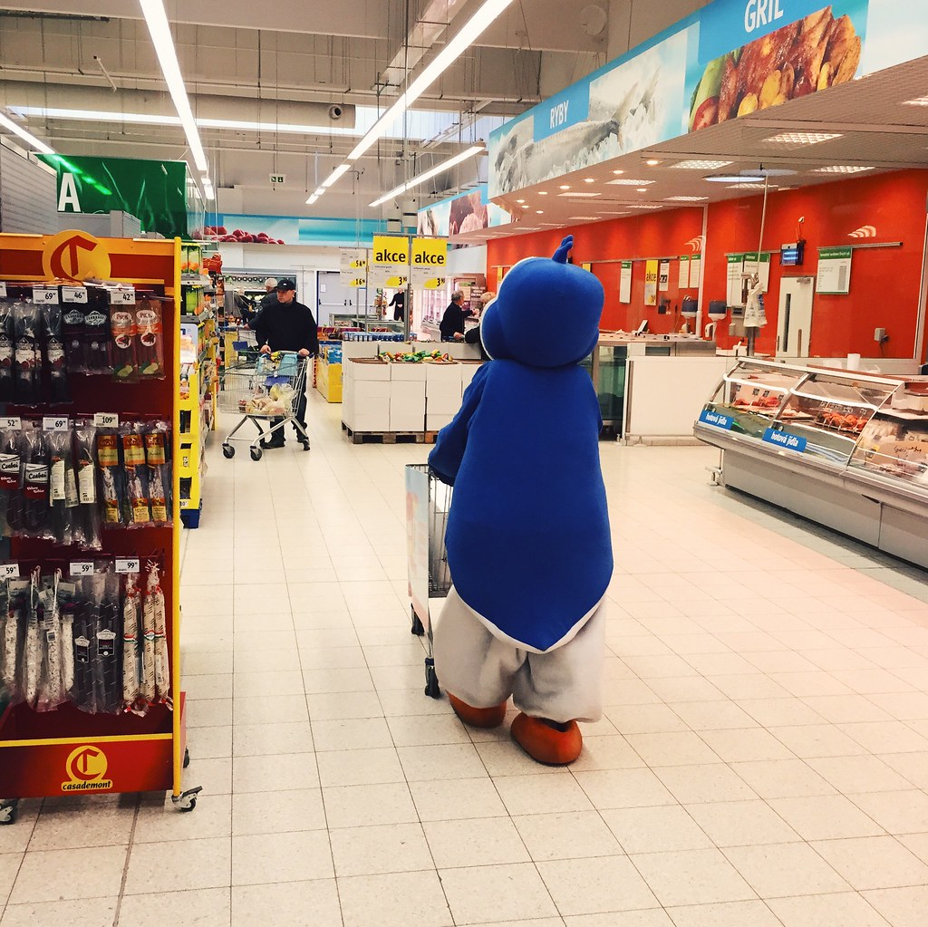 The Big Blue Penguin (3/28/15)