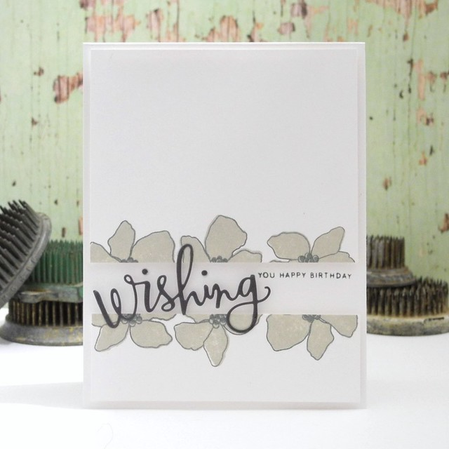 Wishing You Happy Birthday by Jennifer Ingle @Jingle #justjingle #simonsaysstamp #birthday