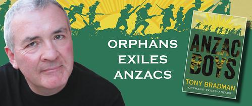 Tony Bradman, Anzac Boys