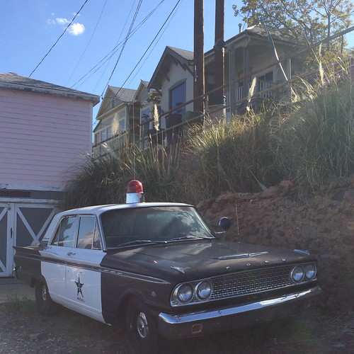 Vintage Cop Car in Jerome, Arizona