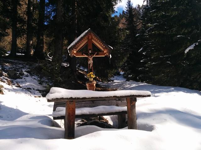 Wegkreuz Aufstieg Gasthof Froneben