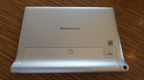Lenovo Yoga Tablet 2 10.1 ด้านหลัง