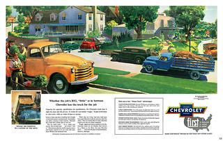 1952 ... trucks taking over!