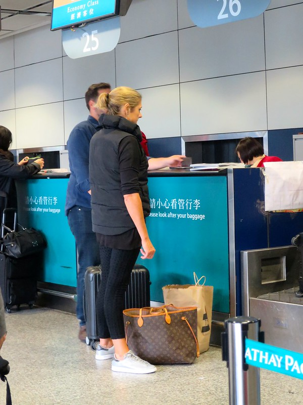 chica girl in HKIA