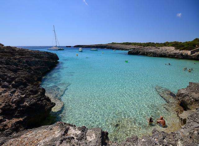 Mágicas calas de Menorca