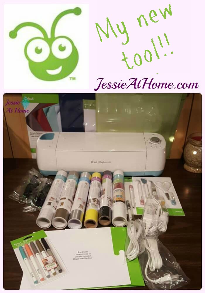Cricut - My new tool! This is going to be fun.
