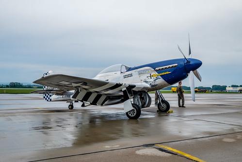 show air north american mustang p51d 2016 pouť aviatická