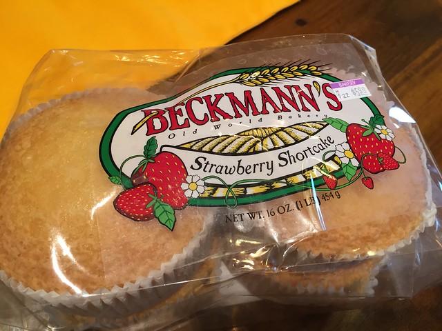 Beckmann's Strawberry Shortcake