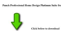Download Punch Professional Home Design Platinum Suite Free Full Cracked  Version For USAu0026UK
