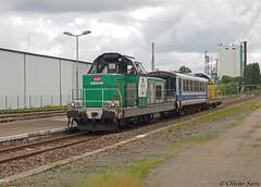 Mauzin en gare de Saillat-sur-Vienne (87) - Photo of Étagnac