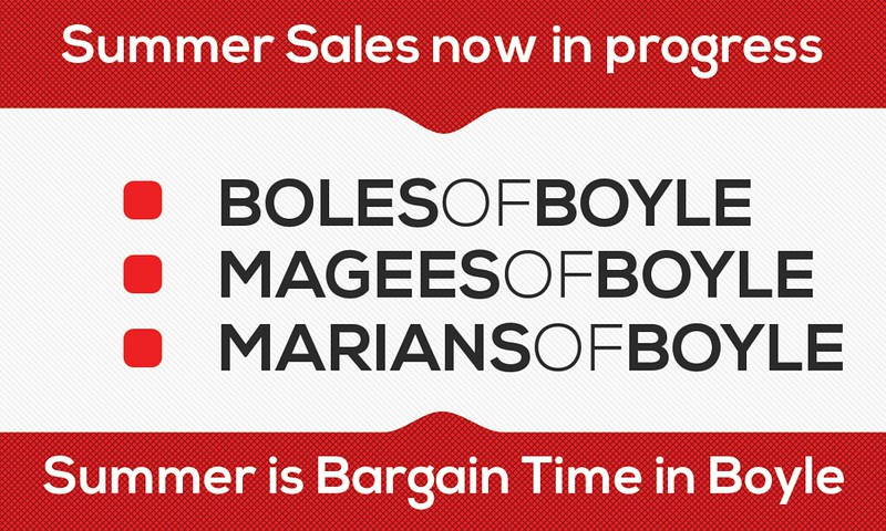 Summer Sales in Progress