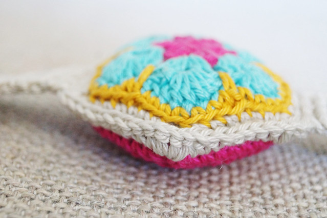 African flower pin cushion