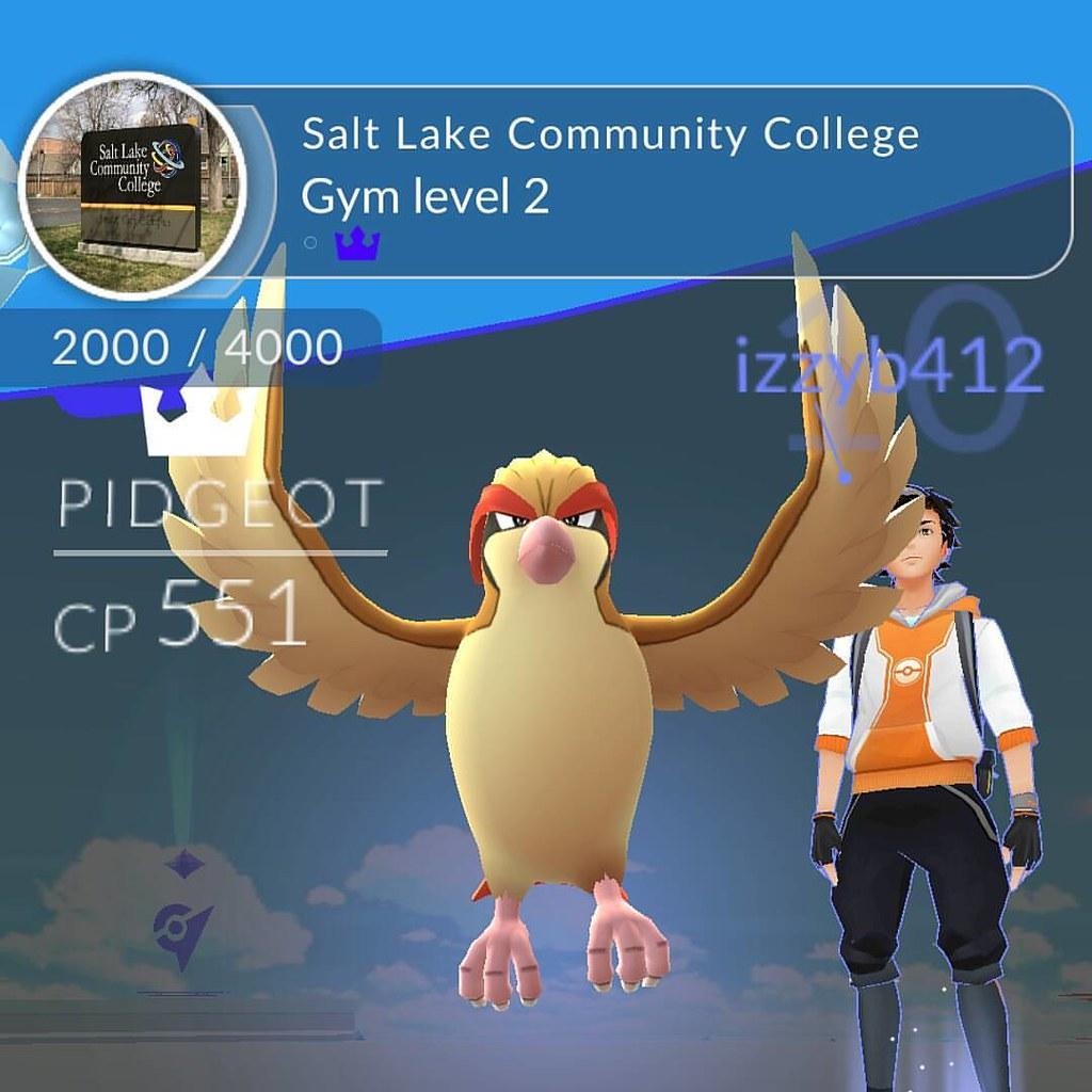 I beat my first gym! #pokemongo