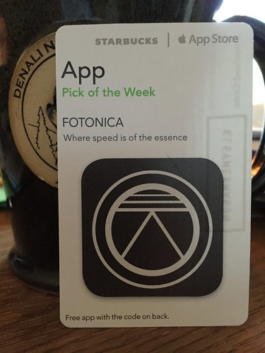 Starbucks iTunes Pick of the Week - FOTONICA