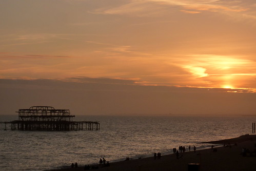 Brighton - West Pier at Sunset