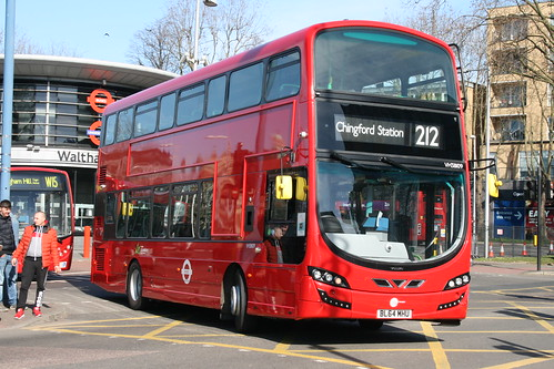 Tower Transit VH38109 on Route 212, Walthamstow Central