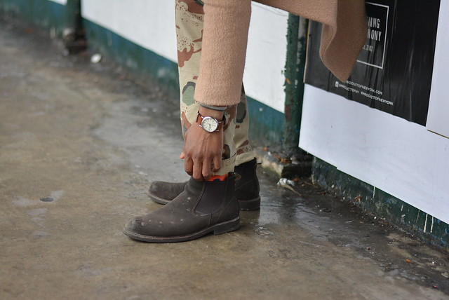 Street style chelsea boot