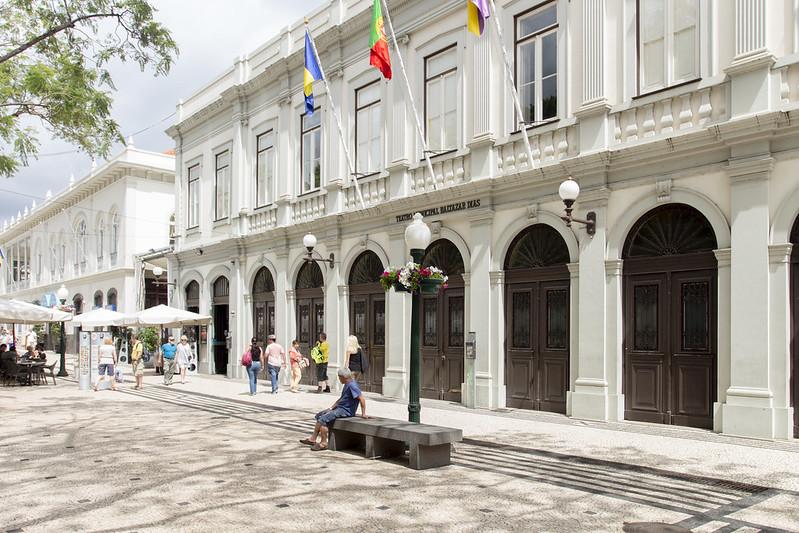 Teatro Municipal Baltazar Diaz in Funchal, Madeira