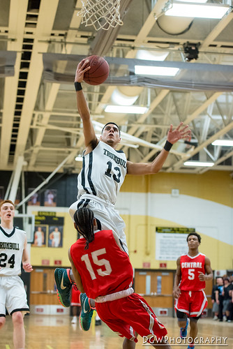 Trumbull High vs. Bridgeport Central - High School Basketball