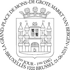 10 Grd-Place de Mons zBxl F
