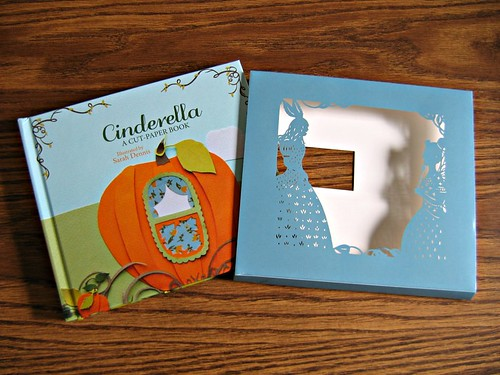 Cinderella - Cut-Paper Book Review and Giveaway