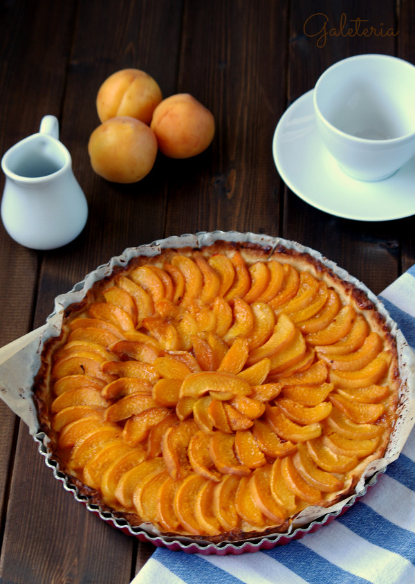 tarta de albaricoques