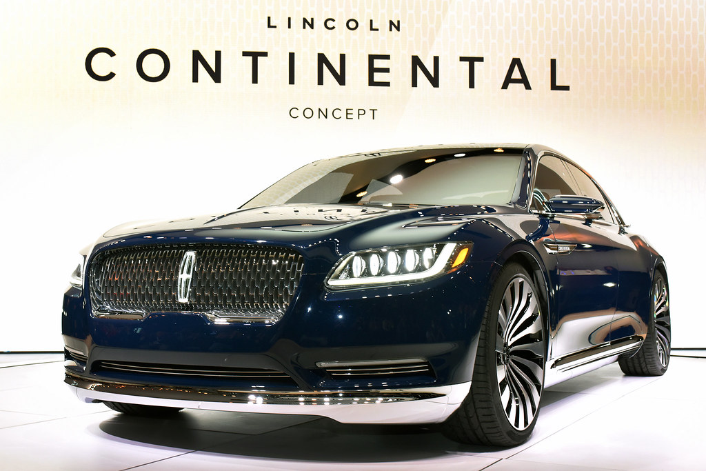 lincoln continental concept live photos 2015 new york auto show car fanatics. Black Bedroom Furniture Sets. Home Design Ideas