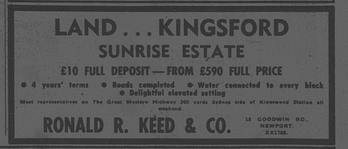 Kingsford Ad April 14 1962 daily telegraph 48