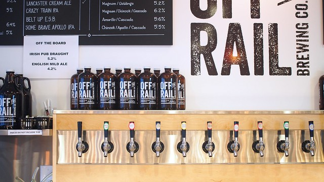 Off the Rail Brewing | Grandview-Woodland, Vancouver