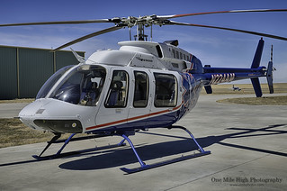 Bell 407 in HDR