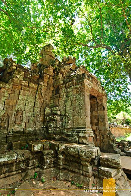 Banteay Kdei Gopura in Siem Reap