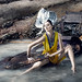 """Shot with just 10 minutes per model on reality TV """"Supermodel Me"""".Read about the challenges from this weeks blog post: http://buff.ly/1GCot4a Styling by Xindi Siau, Head pieces by Bremen Wong by Von Wong"""