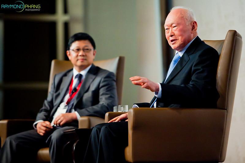 Lee Kuan Yew by Raymond Phang Photography