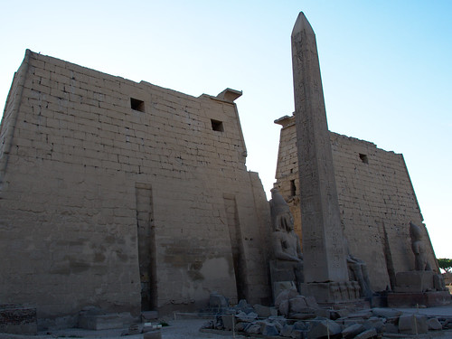 First Pylon at Luxor Temple
