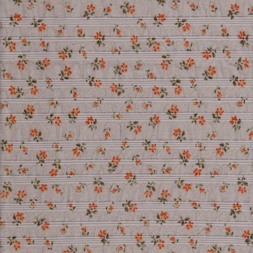 小花 雅緻花卉 皺皺布 服裝布料  CH990112