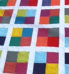 Four Square - Quilting Detail